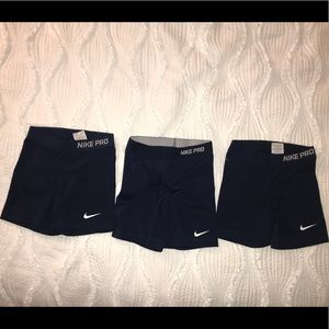 Nike compression shorts